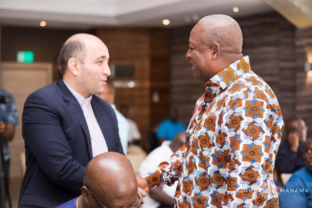 Mahama meets diplomats over Ayawaso by-election violence