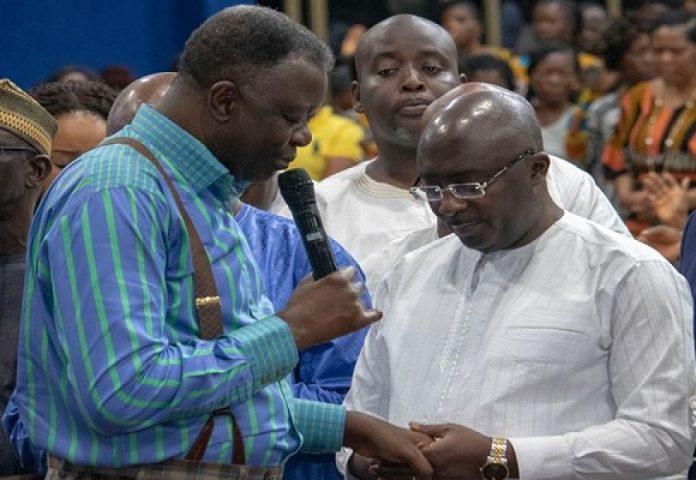 Bawumia and Eastwood Anaba