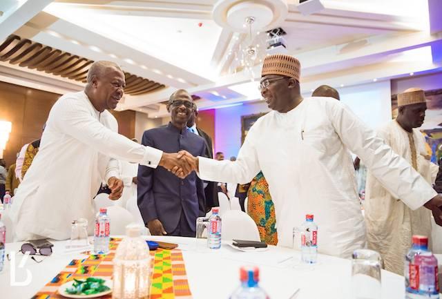 Mahama and Bawumia Photo credit: Kobby Blay (Facebook)