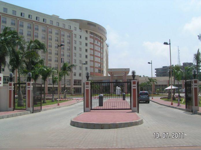 The Movenpick Ambassador Hotel in Accra
