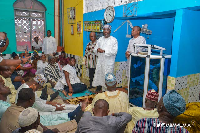 Ghana's vice president Bawumia is on a Ramadan tour