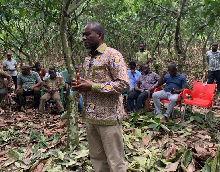 Joseph Boahen Aidoo, COCOBOD CEO