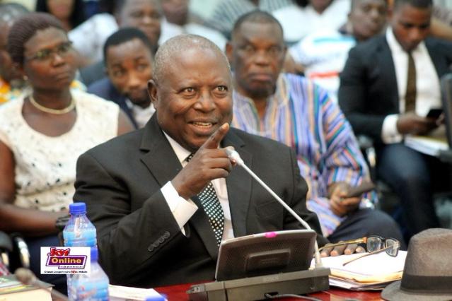 Martin Amidu - the former special prosecutor