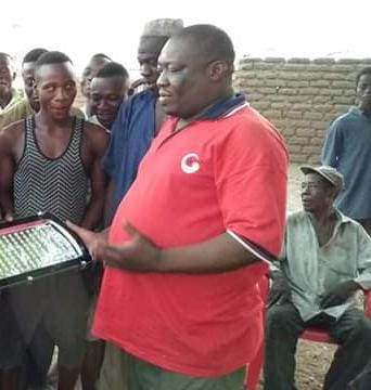 Mr. Poulabong Bayiilela Rachard aka Chairman Water
