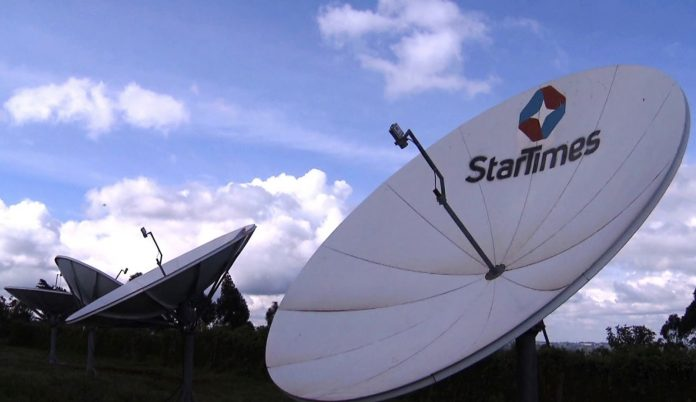 587,000 household have benefitted from StarTimes satellite project ( Photo- File)