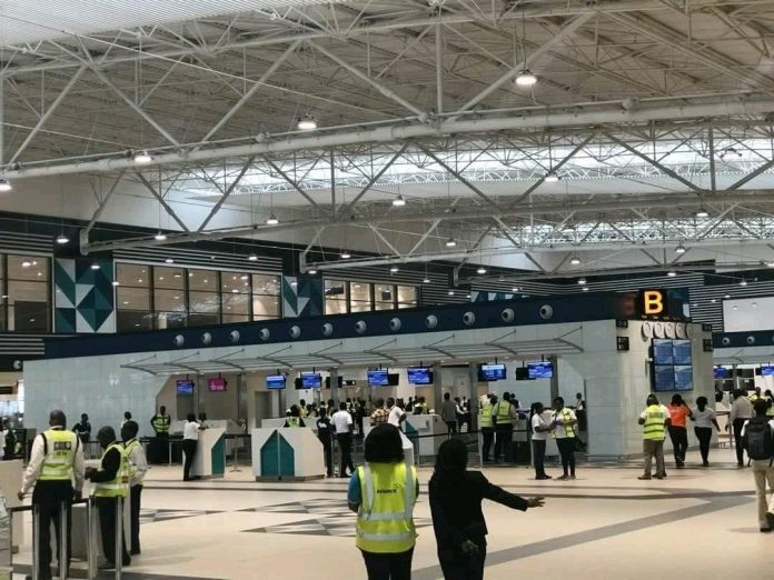 Terminal 3 of the Kotoka airport
