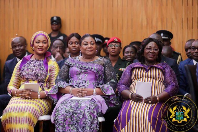 Samira Bawumia and Rebecca Akufo-Addo