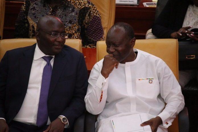Dr. Bawumia and Ken Ofori-Atta