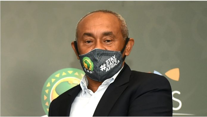 Caf boss Ahmad Ahmad1