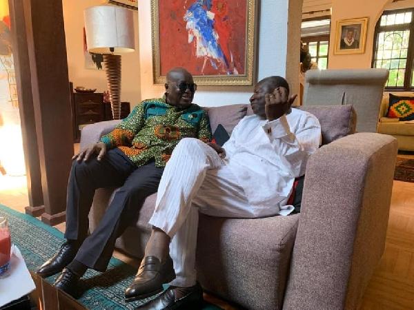 Akufo-Addo and Ken Ofori-Atta