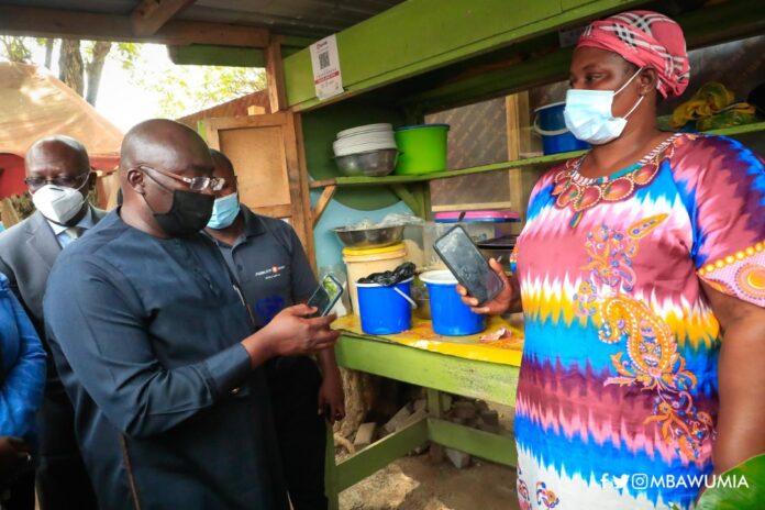 Bawumia at Auntie Muni