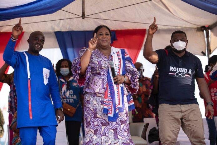 Mrs Rebecca Akufo-Addo at Ningo-Prampram