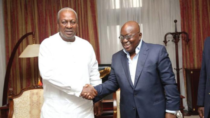 Mr. John Mahama and Nana Akufo-Addo
