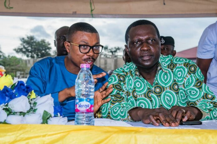 Dr Prince Hamid Armah in a chat with Dr. Yaw Osei Adutwum