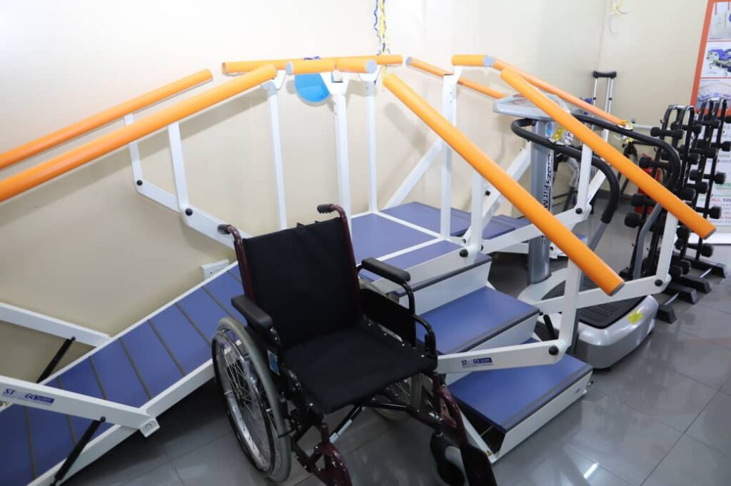 Jubilee House physiotherapy unit