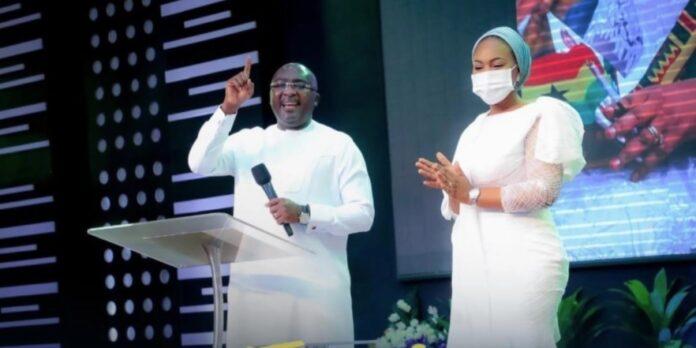 Dr Mahamudu Bawumia and Samira