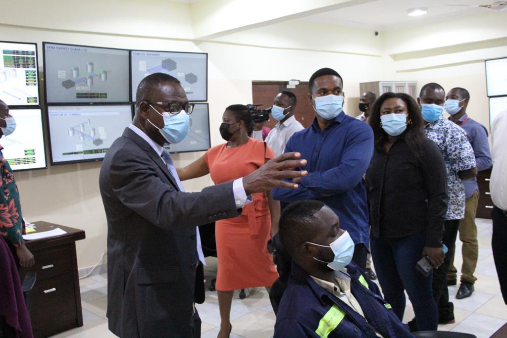 SML Ghana media tour