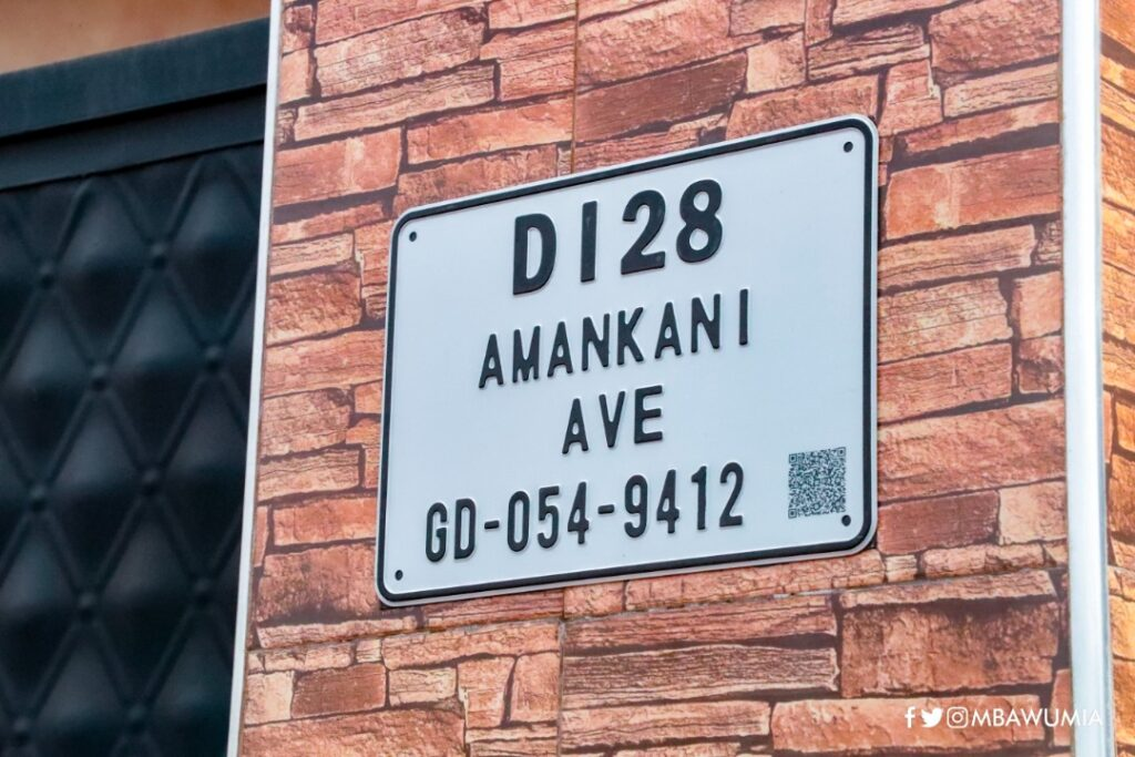 The unique digital address
