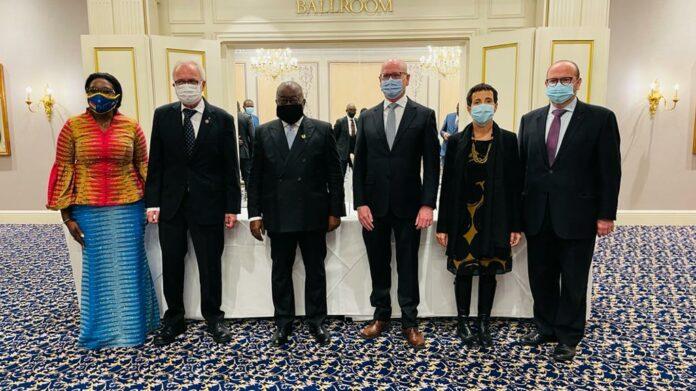 EU delegation and Ghana president