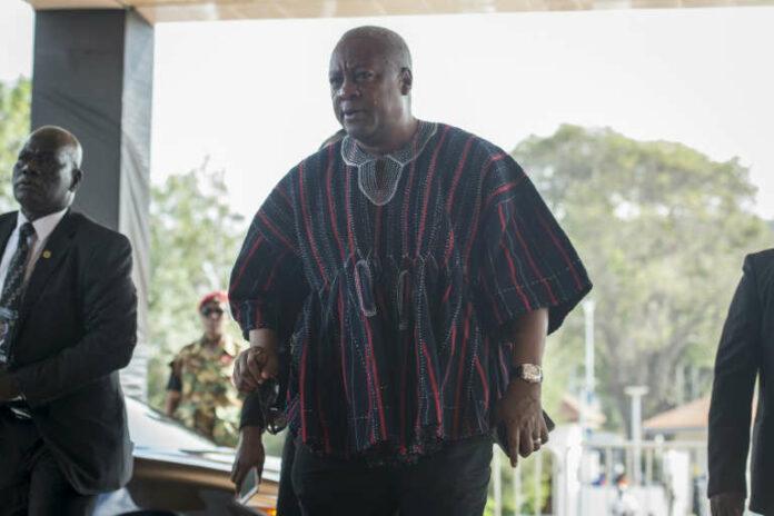 © CRISTINA ALDEHUELA John Mahama was president of Ghana from 2012 to 2017