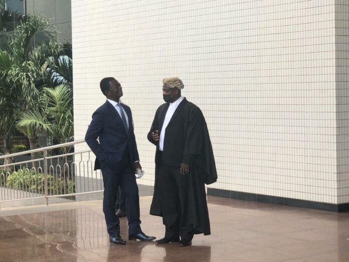 Opuni and his lawyer