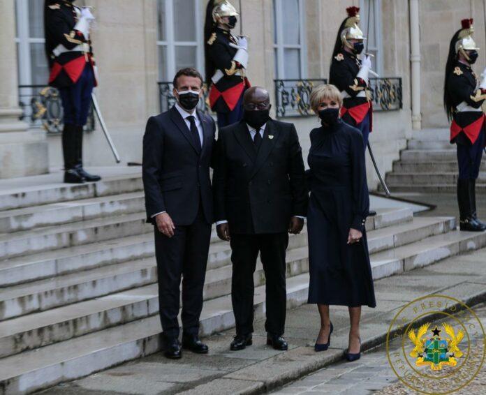 President Nana Addo Dankwa Akufo-Addo in France