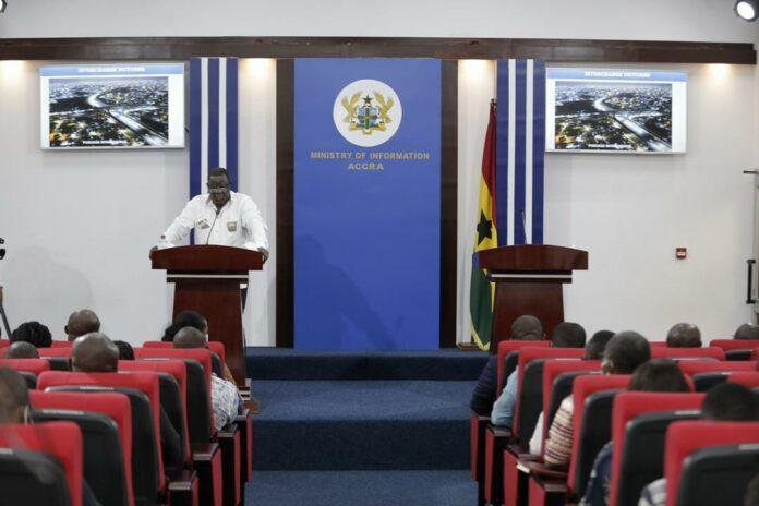 The Minister of Roads and Highways, Kwesi Amoako-Atta