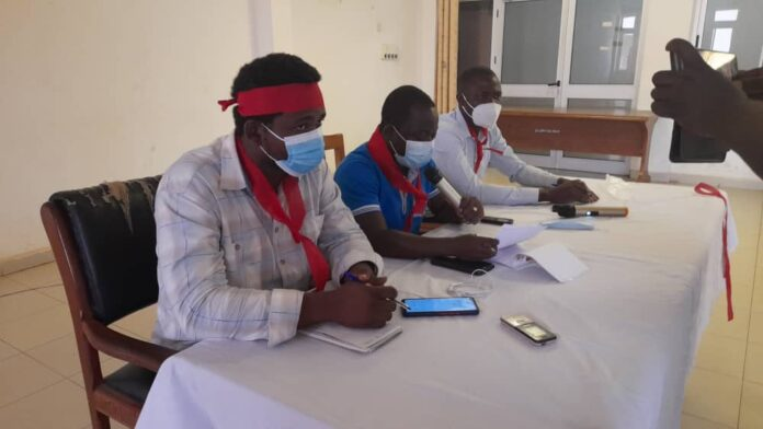 Leadership of the Ghana Association of Medical Laboratory Scientists