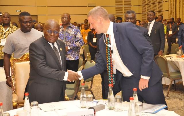 Ian Walker and Akufo-Addo