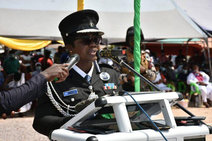 Director-General of Police Welfare COP Maame Yaa Tiwaa Addo-Danquah