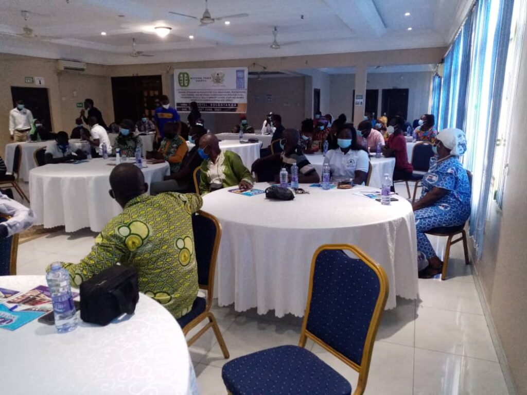 Participants were drawn from local government institutions, state security services, youth groups, CSOs and political parties among other bodies.