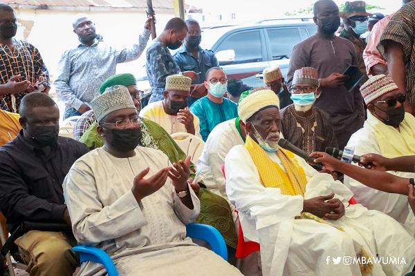 Bawumia and chief imam
