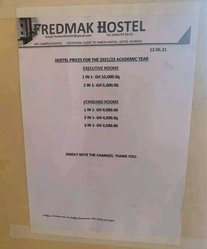 Fredmak Hostel - KNUST