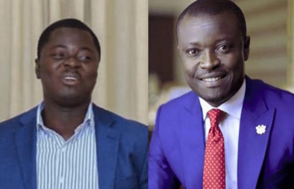 Kofi Agyepong and Jefferson Sackey