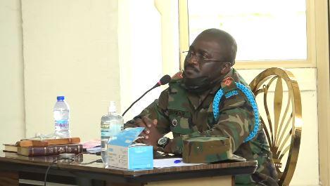 Lt Col Kwasi Ware Peprah