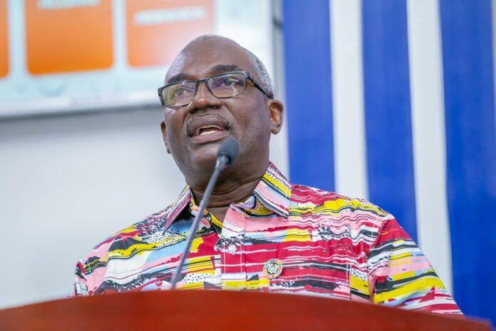 Director General of NDPC, Dr Kodjo Esseim Mensah-Abrampa