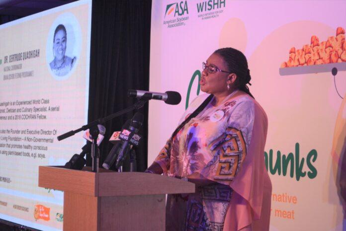 Dr. Mrs. Gertrude Quashigah, School Feeding Coordinator