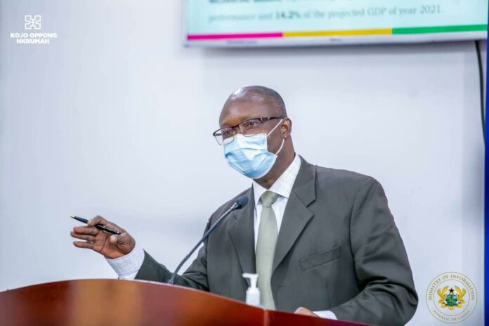 Assistant Commissioner of GRA, Dr. Charles Addae
