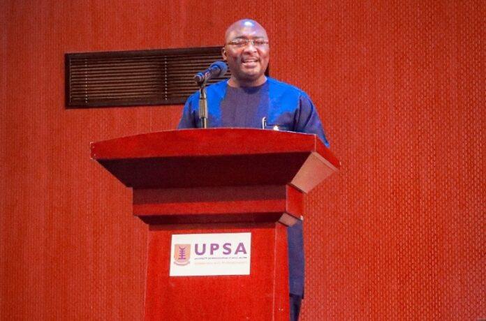 Dr Mahamudu Bawumia at ICU gathering