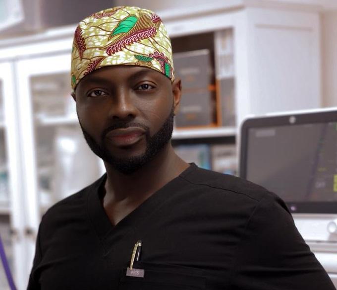 US-based Ghanaian surgeon Dr Michael Obeng