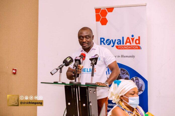 Dr SK Frimpong of RoyalAid Foundation