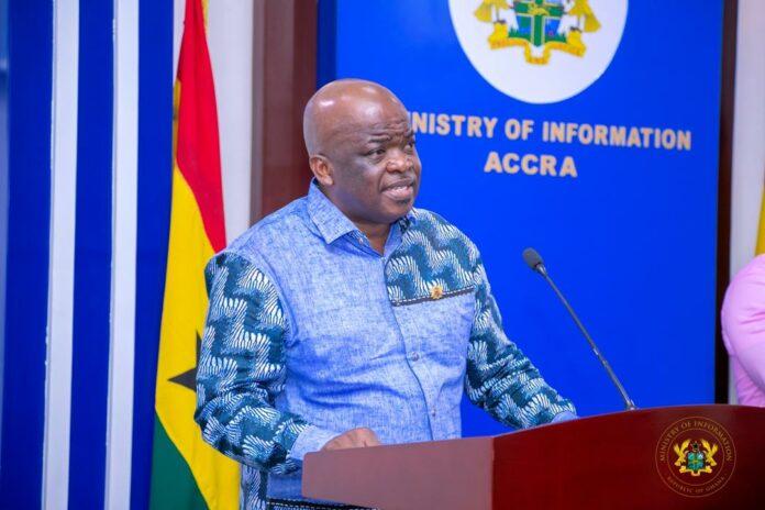 Director General of Ghana Maritime Authority, Thomas Kofi Alonsi