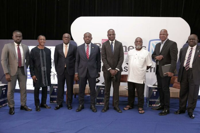 Kojo Oppong Nkrumah and others at the Graphic Business event