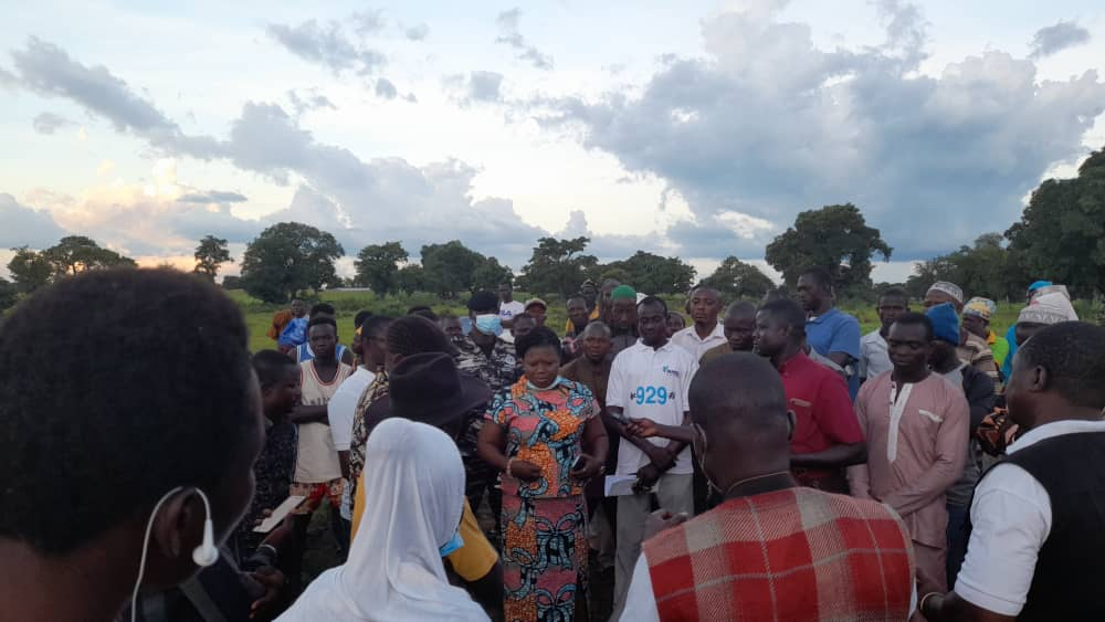 The MP toured some of the affected communities on Wednesday.