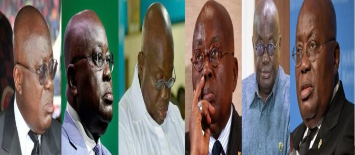 Akufo-Addo different faces