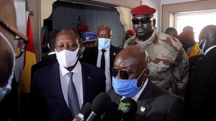 Akufo-Addo in Conakry