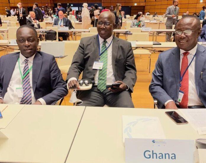 Ghana delegation