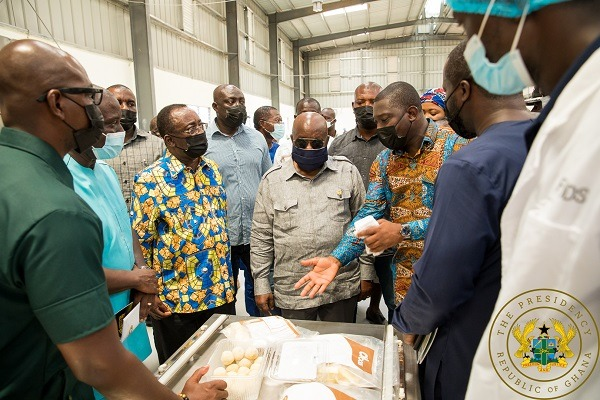 1D1F: Akufo-Addo commissions GHC10 million yam and cassava