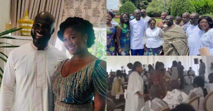 Kwabena Jumah and Edwina Akufo-Addo